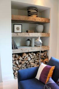 25+ best ideas about Reclaimed Wood Shelves on Pinterest ...
