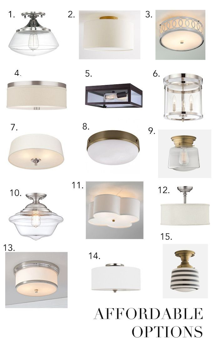 flush mount lighting flush mount kitchen lighting Find this Pin and more on Lighting affordable flush mounts