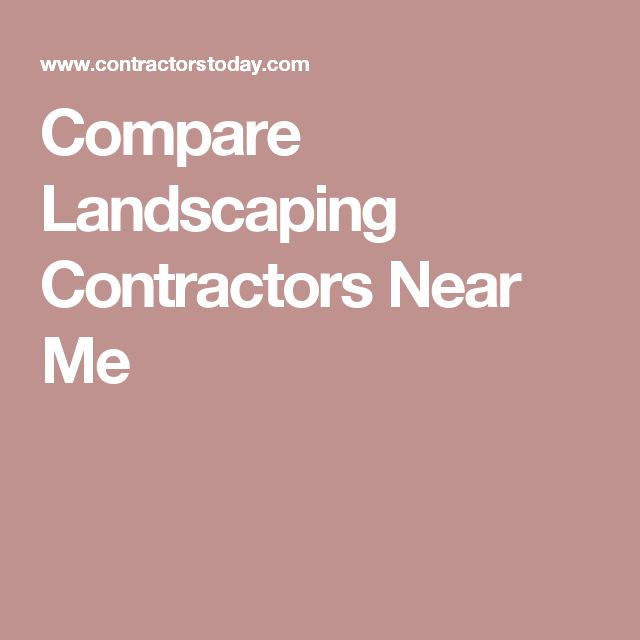 Landscaping Companies Near Me 25+ Best Ideas About Landscaping Contractors On Pinterest