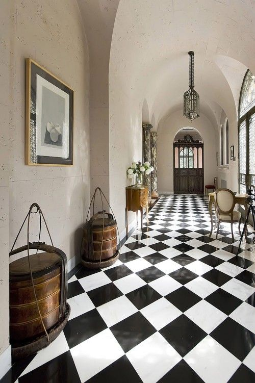 Best 20+ Checkered Floors ideas on Pinterest