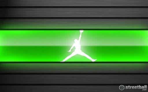 Nba Players Iphone Wallpaper Air Jordan Logo Neon Basketball Brands Pinterest