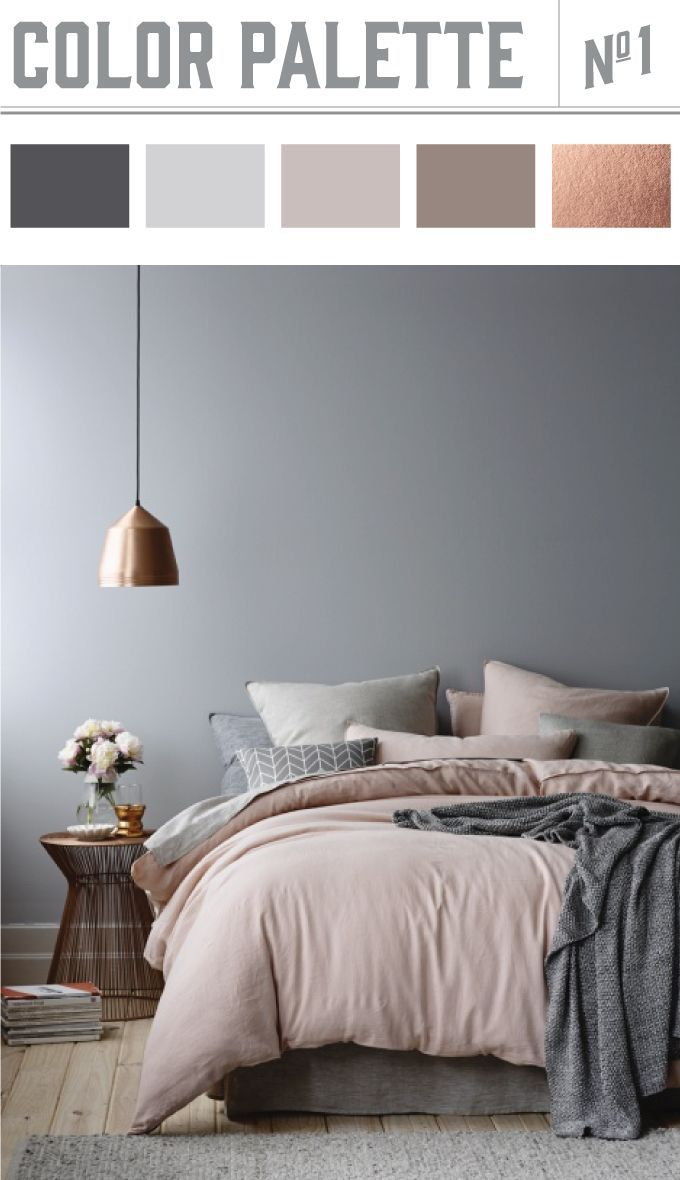 This photo i came across perfectly captures the color palette i am in love with right now neutrals with dusty grey blush and touches of coppers