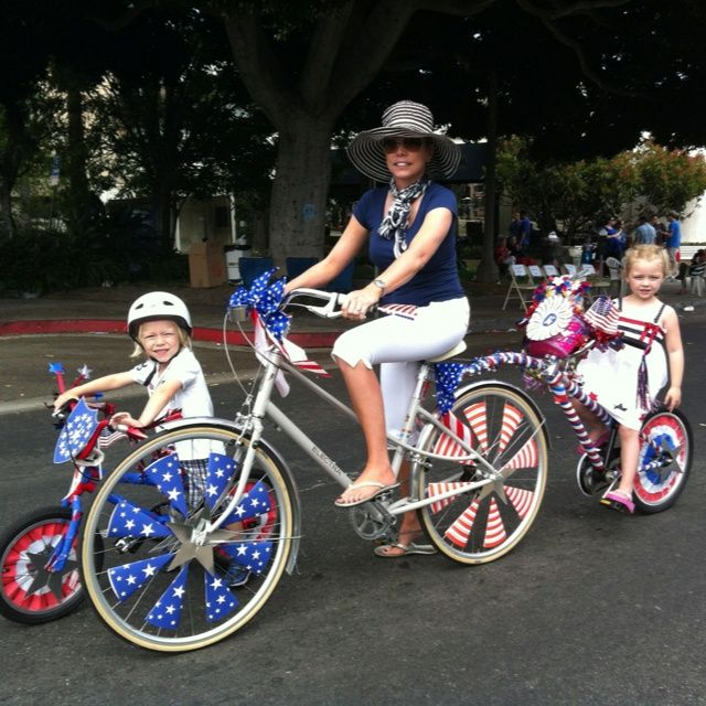 4th of July Bike and Scooter Decorating: a collection of