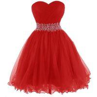 Red Short Prom Dresses With Straps | www.pixshark.com ...