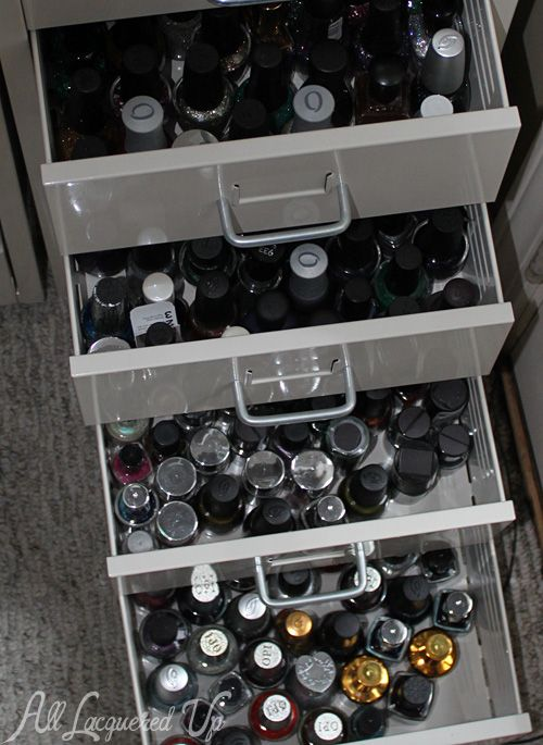 1000 Images About Nail Polish Organizer On Pinterest My