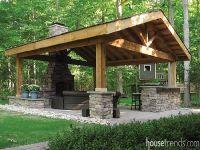 25+ best ideas about Backyard pavilion on Pinterest ...