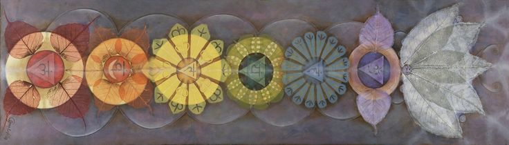 Happy Fall Wallpaper Iphone Love This Contemporary Chakra Painting Which I Use
