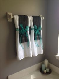 Gray and turquoise bathroom   For the Home   Pinterest ...