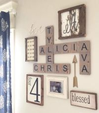 25+ best ideas about Scrabble Wall Art on Pinterest ...