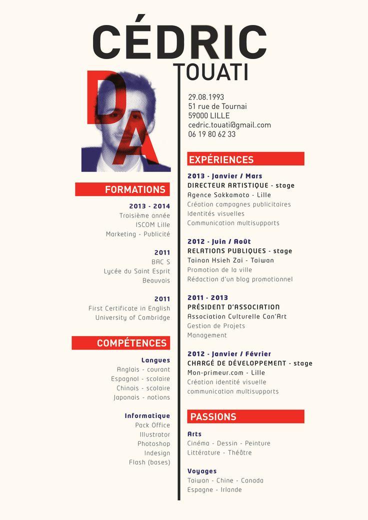 cv directeur artistique pdf