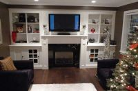 fireplace entertainment center combinations | FIREPLACES ...