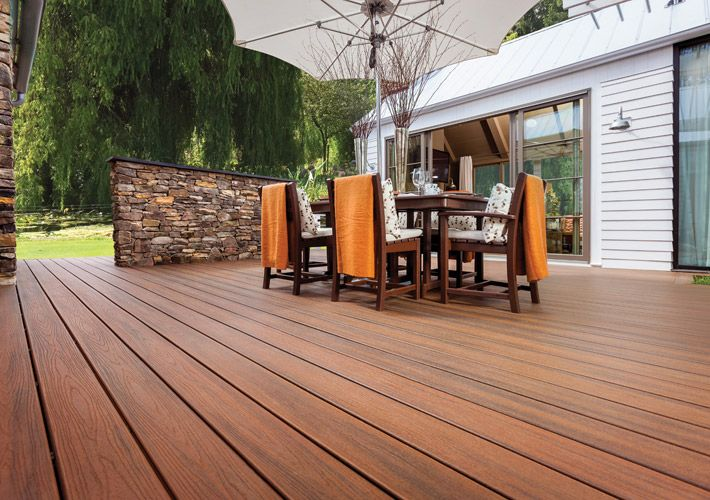 Trex Terrassendielen Deck & Fence Designs | Deck & Fence Ideas | Decking