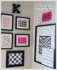 25+ best ideas about Framed Scrapbook Paper on Pinterest