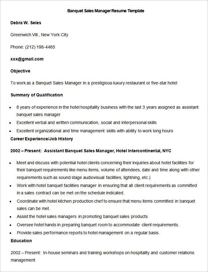 Hotel Sales Assistant Sample Resume Sales Assistant Resume Samples