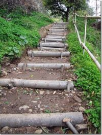 25+ best ideas about Outdoor steps on Pinterest   Garden ...