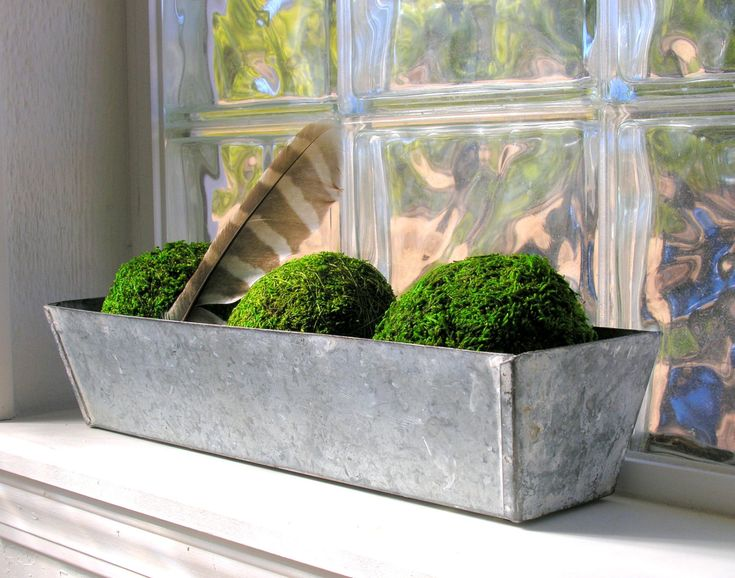 Galvanized Metal Planter Box Window Farmhouse Garden
