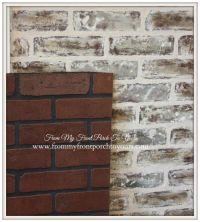 17+ best ideas about Faux Brick Panels on Pinterest | Faux ...