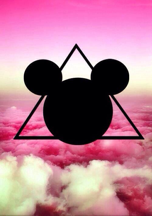 Hamsa Iphone Wallpaper Trippy Mickey Mouse Head Pyramid Illuminati Freemasons