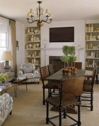 53 best images about library/dining room combo on