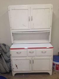 Vintage HOOSIER CABINET 1940s 1950s cabinet antique retro ...