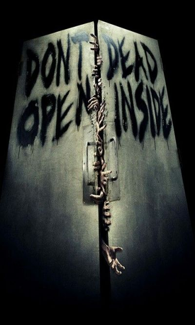 Don't open dead inside | ♕ KEEP CALM ♕ | Pinterest | Doors, Bathroom doors and Thoughts