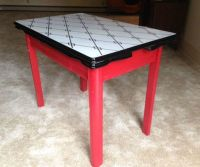 87 best images about Vintage Enamel Top Kitchen Table on ...