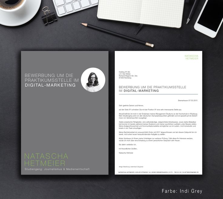 17+ Images About Bewerbung On Pinterest   Cover Letter Template