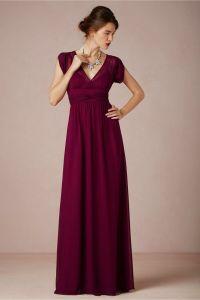 Ava Maxi Dress in Merlot from BHLDN | Red Wedding Ideas ...