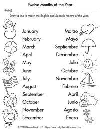 Spanish Worksheets For Kids. Worksheets. Ratchasima ...