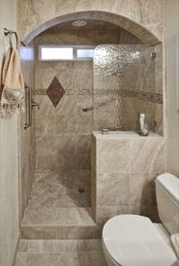 Walk-In Showers for Small Bathrooms | Small Bathroom ...