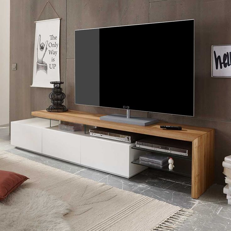 Sideboard Wohnzimmer Tv & Hifi Tische 25+ Best Ideas About Lowboard Eiche On Pinterest | Tv Wand