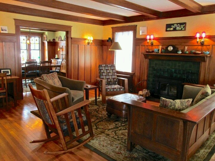 25+ best ideas about Craftsman living rooms on Pinterest