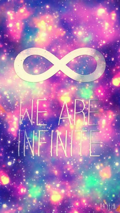 Cute infinity wallpaper | Girly wallpapers | Pinterest | Quotes about life, iPhone 4s and ...