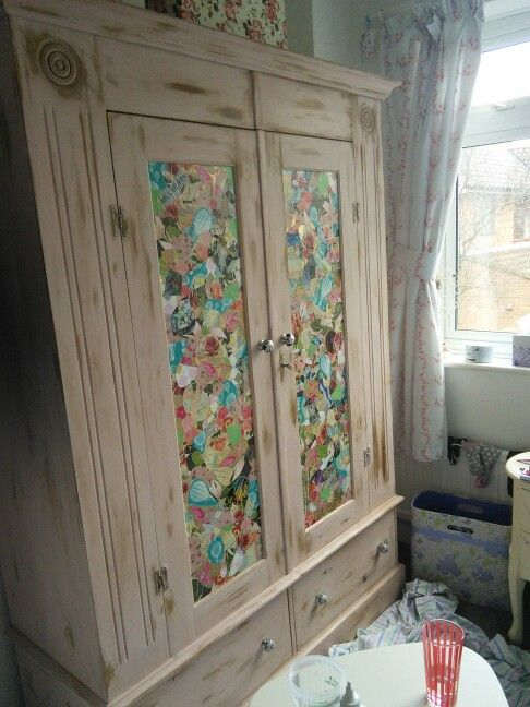 Garden Ideas For Around The Pool Decoupage Wardrobe | Wardrobes | Pinterest | Wardrobes And