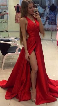 25+ best ideas about Red satin dress on Pinterest | Red ...