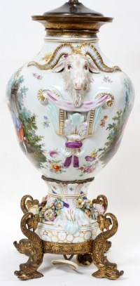 17 best images about Dresden porcelain lamps on Pinterest ...