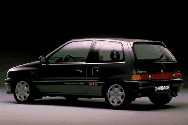 Black Car Lights Wallpaper Black Daihatsu Charade Gtti Turbo 80 S Hot Hatches