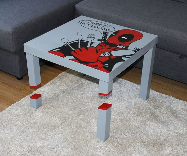 Ikea Hack Kinderkueche Sliced Deadpool Lack Table 2.0 | To Be, Simple And Ikea