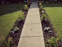 25+ best ideas about Sidewalk landscaping on Pinterest