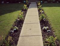 25+ best ideas about Sidewalk landscaping on Pinterest
