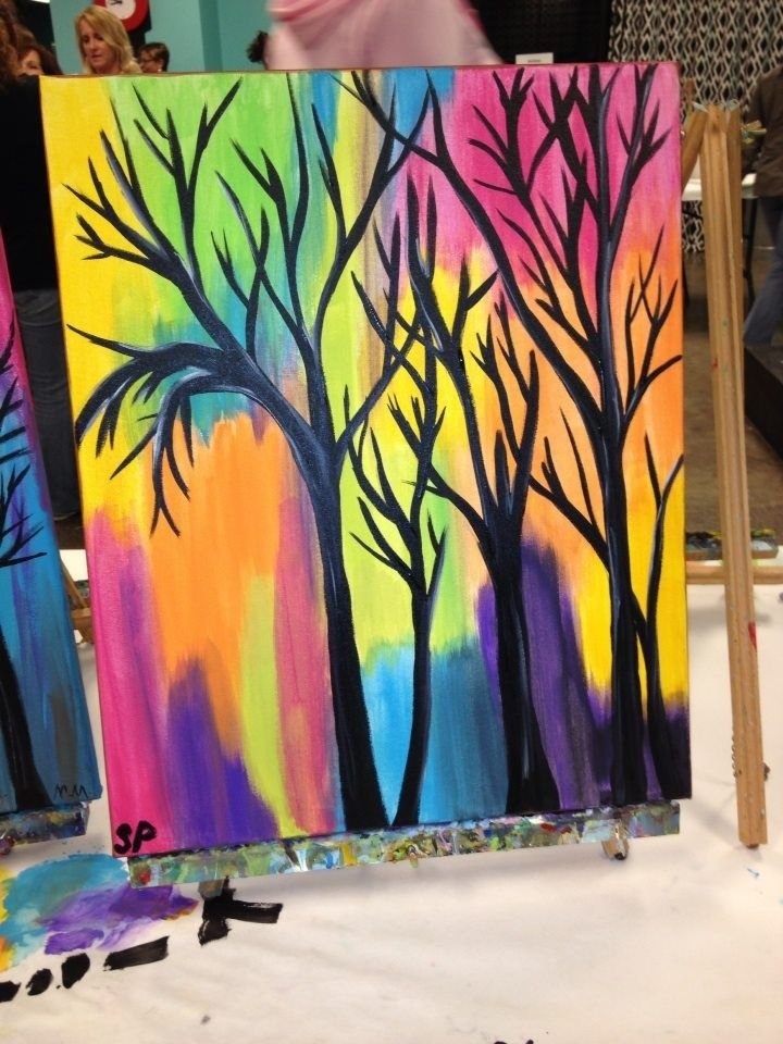 1000+ Ideas About Easy Acrylic Paintings On Pinterest   Paintings