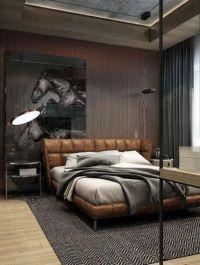 17 Best ideas about Masculine Bedrooms on Pinterest   Man ...