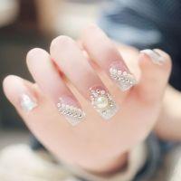 25+ best ideas about Pearl Nail Art on Pinterest   Wedding ...