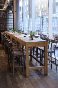 How To Make A Bar Height Kitchen Table - WoodWorking ...