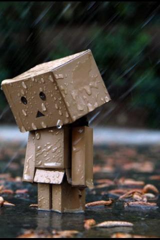 Rain Boy And Girl Wallpaper Sad Little Box Man M Little Box Boy Pinterest