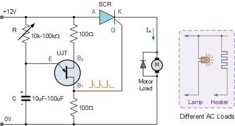 dc motor circuit