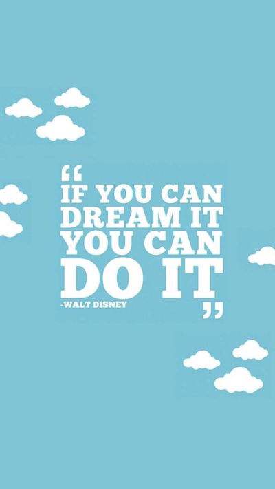 Walt Disney Quote. Amazing. | iPhone Wallpapers | Pinterest | Disney, Its you and You are