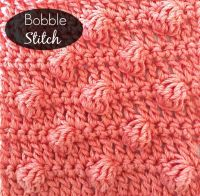 Bobble Stitch Tutorial by Pattern-Paradise.com | Anything ...