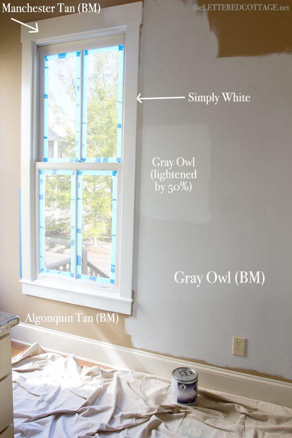 1000+ Ideas About Gray Owl Paint On Pinterest | Benjamin Moore