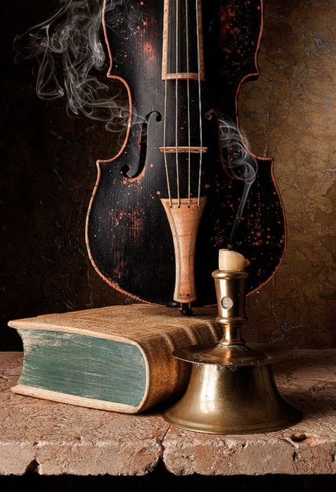 Cuadros De Violines Still Life, Violin, Baroque, Painting | Beauty - For